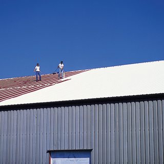 Seal entire roof with an elastomeric reflective top coat